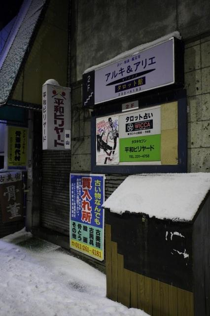 札幌  すすきの・狸小路界隈の夜_b0061717_103550.jpg