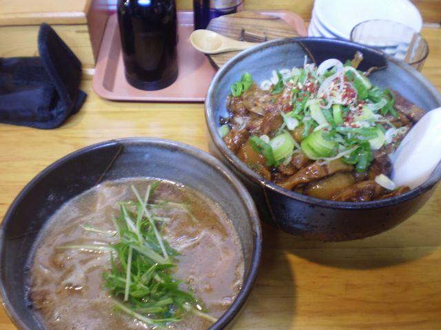 塩つけ麺@しゃかりき_a0117520_210356.jpg
