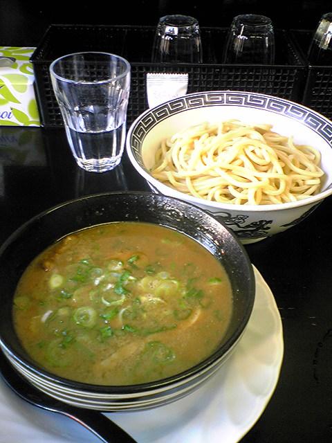 重厚つけ麺@ラーメン軍団_a0117520_21581770.jpg