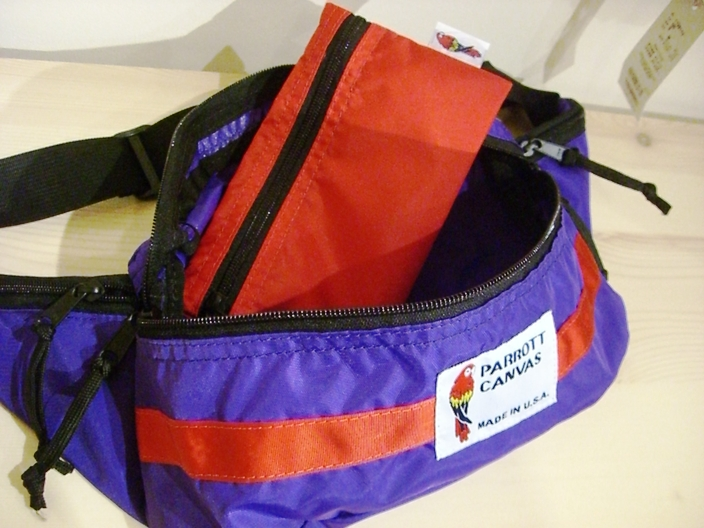 "PARROTT CANVAS ""FANNY PACK\""_f0191324_0355658.jpg"