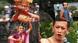 インドネシアの女形舞踊家・Didik Nini Thowok さん@国際バリ・インド・ヨガフェスティバル_a0054926_22431238.jpg