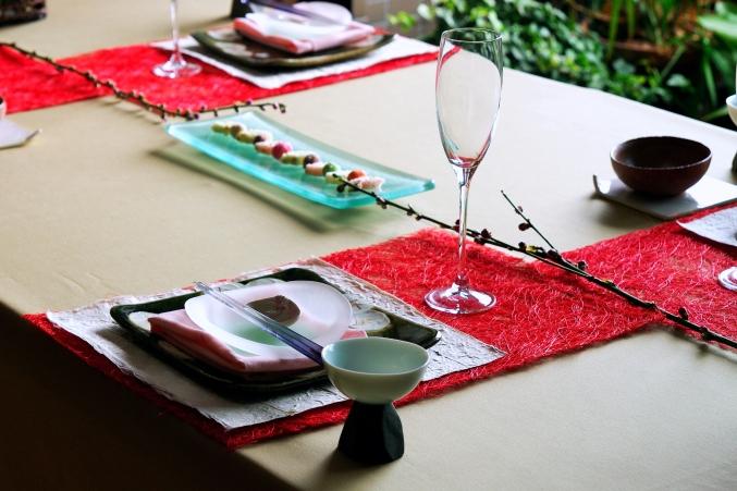 ひな祭りのテーブルコーディネート _d0145934_11462786.jpg
