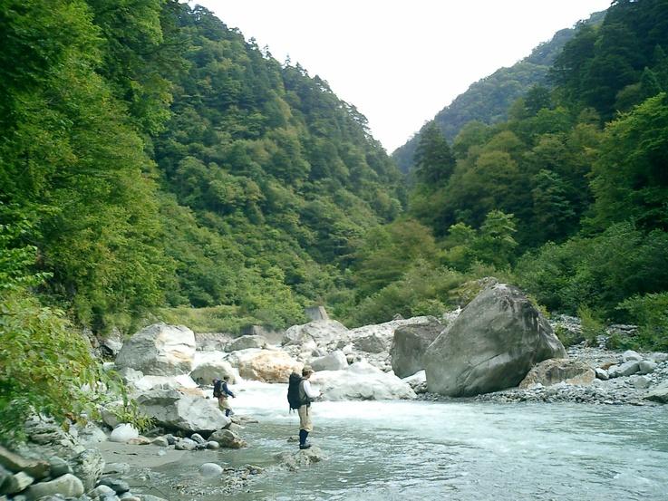黒部-黒薙 岩魚釣_b0151262_13295724.jpg