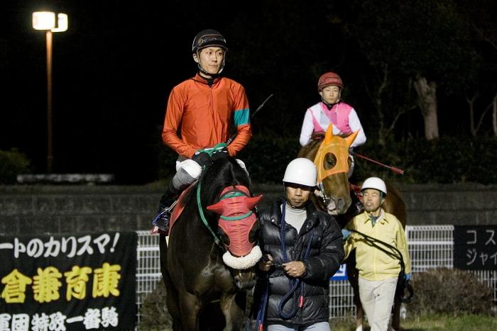 2010年2月28日(日) 高知競馬 10R 梅見月特別 C1 選抜馬_a0077663_2291662.jpg