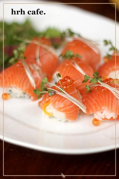 ひな祭りパーティー。おつまみのお寿司♪_b0165178_10353578.jpg