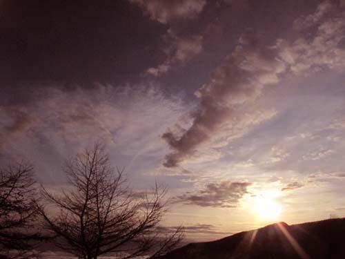 夕暮れの雲海_e0120896_1121583.jpg