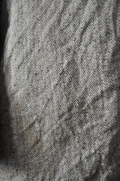 Ordinary fits Silk Linen Coat