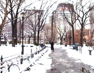 雪景色のユニオン・スクエア_b0007805_23163260.jpg