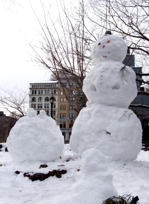 雪景色のユニオン・スクエア_b0007805_231818100.jpg