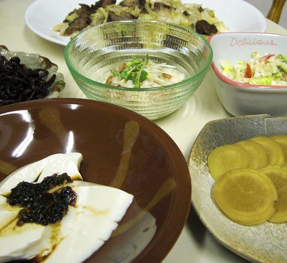 黒酢煮豚とキャベツの炒め物。_c0119140_13362225.jpg