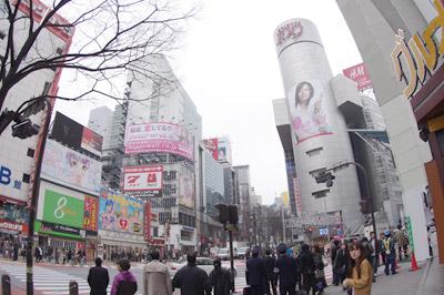 3月1日(月)今日の渋谷109前交差点_b0056983_1149362.jpg