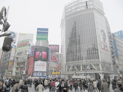 3月1日(月)今日の渋谷109前交差点_b0056983_11502053.jpg