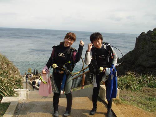 3月2日真栄田岬でOW講習_c0070933_21451945.jpg