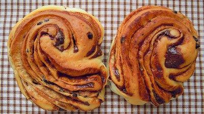 折り込みパン!(チョコシート)_a0165538_1043397.jpg
