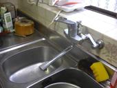 灘区M邸 キッチン混合水栓取替_e0184941_16134157.jpg
