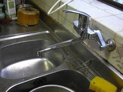 灘区M邸 キッチン混合水栓取替_e0184941_16141161.jpg