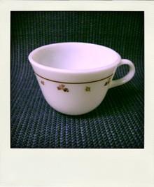パイレックスの バーガンディ tea MUG バーガンディ_a0130050_2485055.jpg