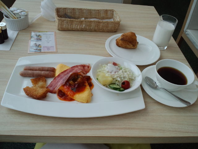 breakfast☆_c0151965_90111.jpg