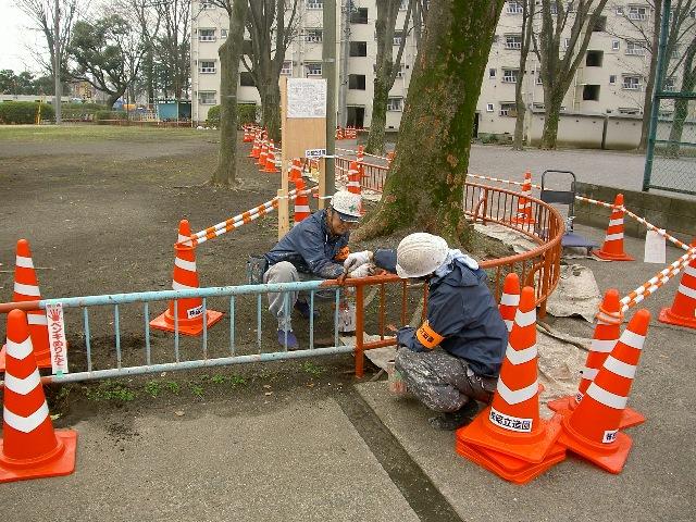 国立富士見台第二・第三団地 工事始まりました★_b0172896_18251735.jpg