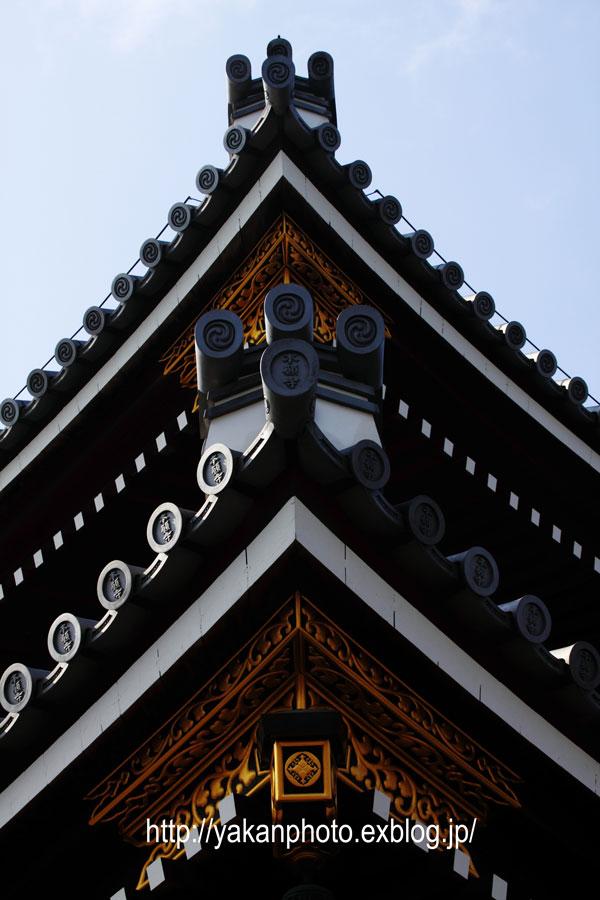 京都研修旅行 ~屋根、鬼瓦撮影記~ 東本願寺編2_b0157849_3554121.jpg