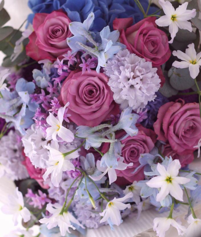 花束 青紫_a0042928_22263527.jpg