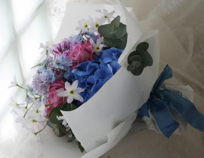 花束 青紫_a0042928_22264555.jpg