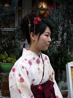 袴のヘアーメイク着付け_a0123703_10113293.jpg