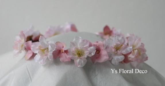 デンファレの花冠、桜の花冠_b0113510_15334753.jpg