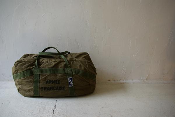 フランス軍 パラシュートバッグ デッドストック_a0146016_12295856.jpg