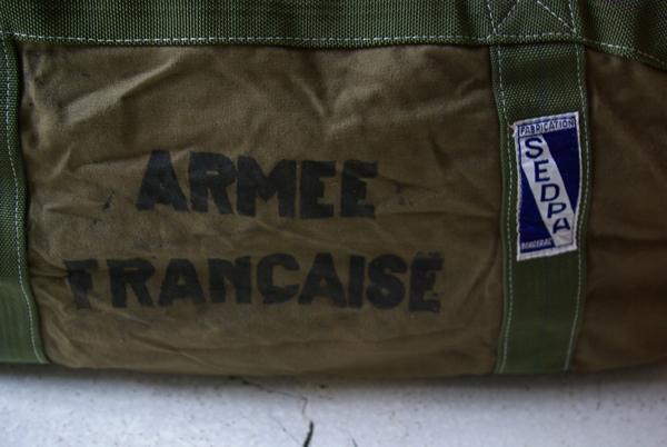 フランス軍 パラシュートバッグ デッドストック_a0146016_12302032.jpg