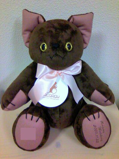 猫のウェイトドール。_f0108346_047377.jpg