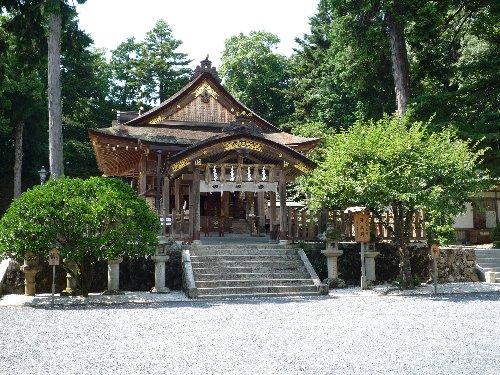 宇部神社の右近の橘、左近の桜(因幡国)_a0004391_2365756.jpg