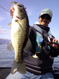 琵琶湖タックルへ。_e0100021_19101444.jpg