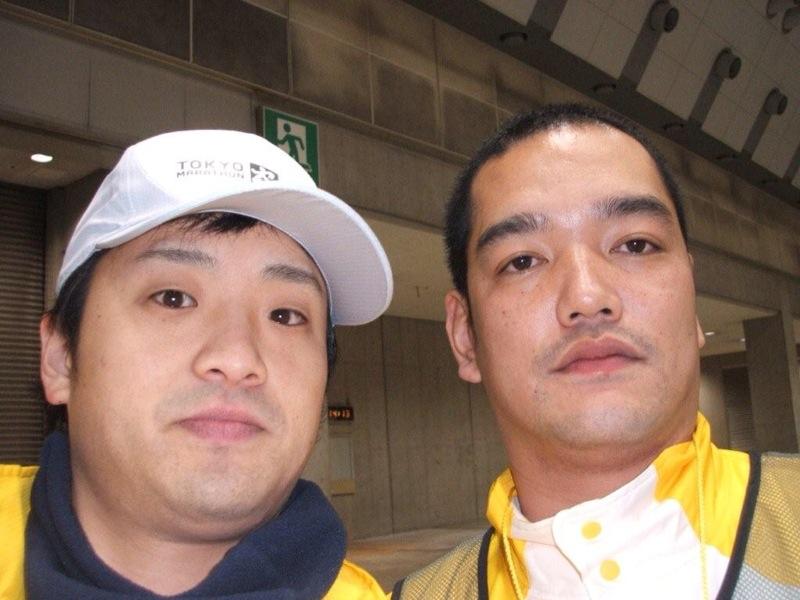 東京マラソンにて_f0214534_939181.jpg
