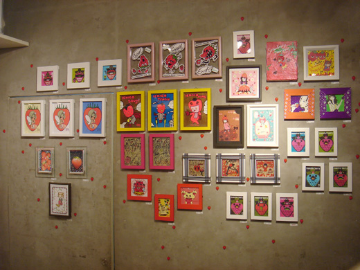 タケヤマ・ノリヤと愉快な仲間のにてんさん展 「Monster Berry~おばけイチゴのイロイロ」_f0010033_1783725.jpg