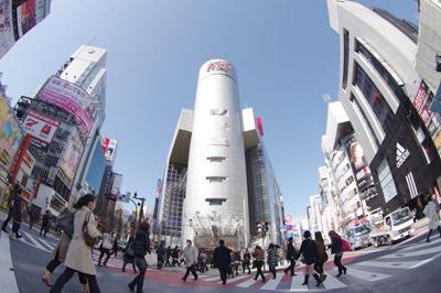 3月11日(木)今日の渋谷109前交差点_b0056983_16221323.jpg