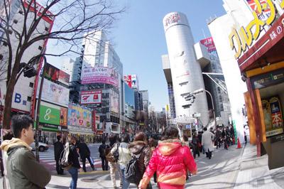 3月11日(木)今日の渋谷109前交差点_b0056983_1622696.jpg