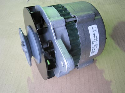 船舶エンジン オルタネーター修理_e0169210_8595358.jpg