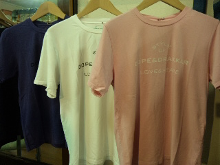 半袖Tシャツ入荷! こちらもORGANIC & BAMBOO_d0108933_16403019.jpg