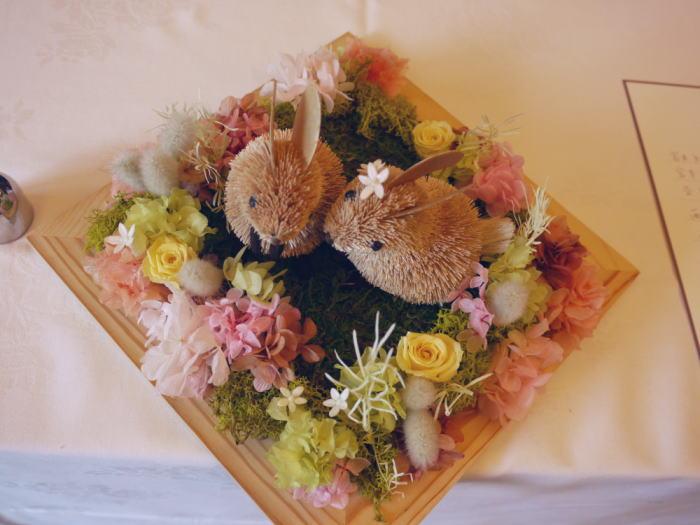 ルヴェソンヴェール駒場様へ 会場装花 風が通るように_a0042928_2238879.jpg