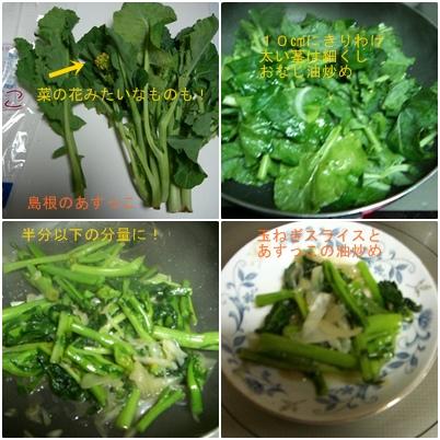 青菜炒めのアラカルト_a0084343_20444140.jpg