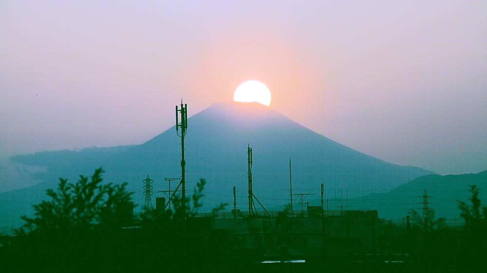 ダイヤモンド富士・野毛山公園_a0150260_984684.jpg