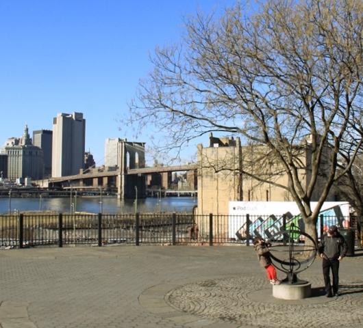 ブルックリン・ハイツ・プロムナードでリラックス Brooklyn Heights Promenade_b0007805_1281135.jpg