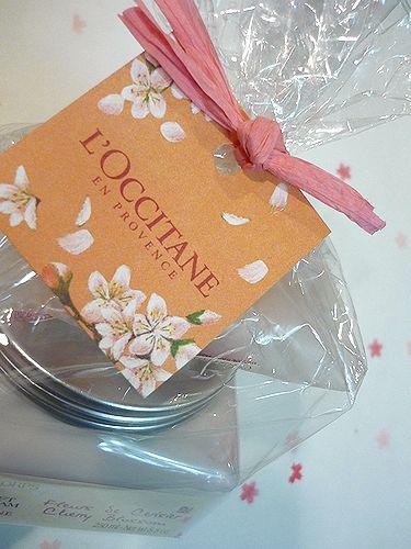 L\'OCCITANE  ロクシタン ホワイトデーの贈り物は 南仏からの桜だより*。☆.。† ♡。・*_a0053662_18493467.jpg