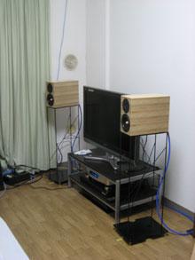 1Roomのオーディオシステム☆_c0113001_10185252.jpg