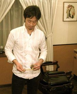 萩原健一氏主演映画で実技指導_e0100332_14564840.jpg