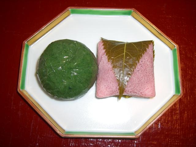みどりやの草餅と桜餅 筑西市_c0210533_1136231.jpg