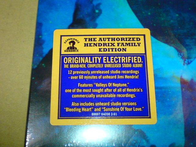 昨日到着CD 〜 Valley Of Neptune / Jimi Hendrix_c0104445_20503571.jpg