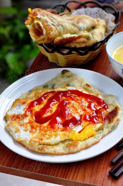 ■本日の一品(ひとしな)~葱油餅 於上海_e0094583_1936616.jpg