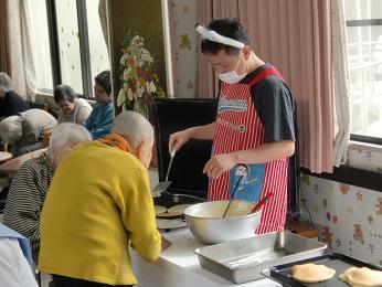 ホットケーキ祭り②_e0164724_21105920.jpg